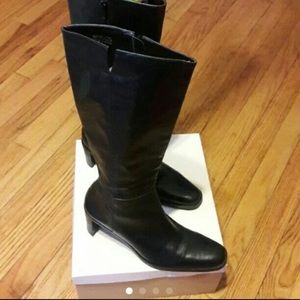 Etienne Aigner Boots 100%Leather
